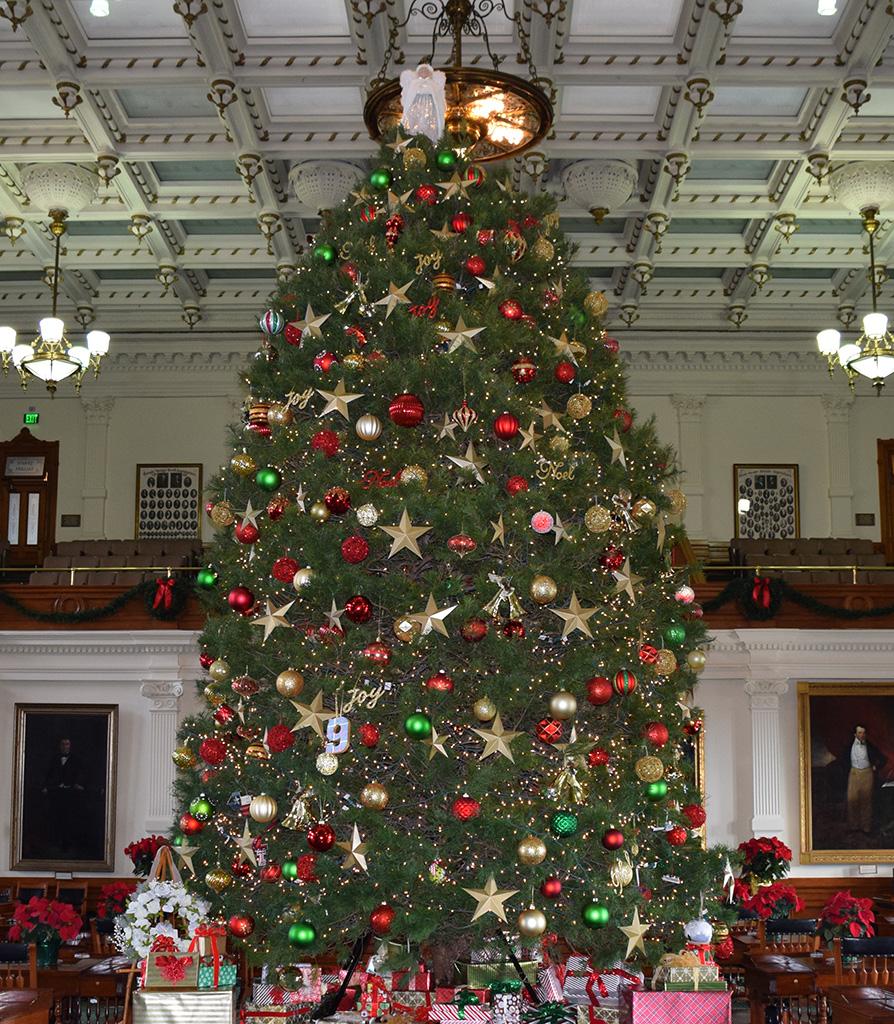 Texas Senate Christmas Tree